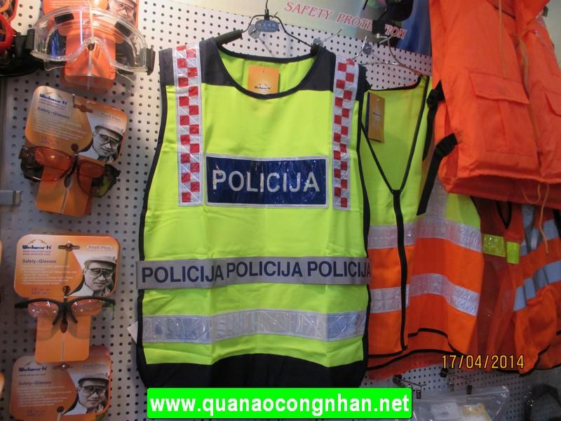 Áo phản quang cảnh sát